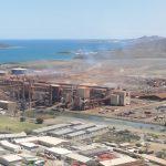 Control de planta de molienda de carbón en Nueva Caledonia